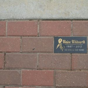 Blaine Memorial Brick