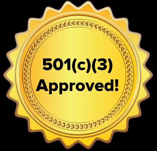 501(c)(3) Non-Profit Status Reached