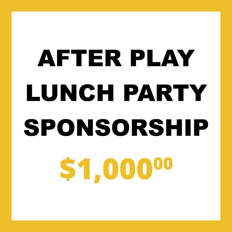 After Play Lunch Party Sponsorship