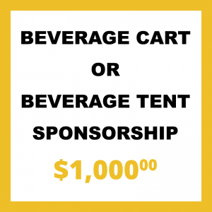 Beverage Cart Tent Sponsorship
