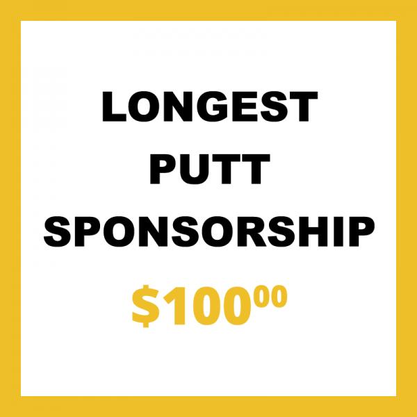 Longest Putt Sponsorship