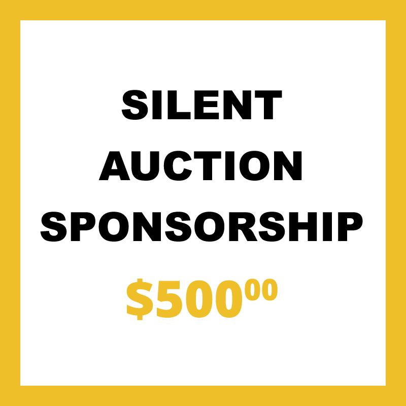 Silent Auction Sponsorship
